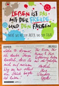Kundenfeedback Coaching Berlin Pankow Aline Kramer